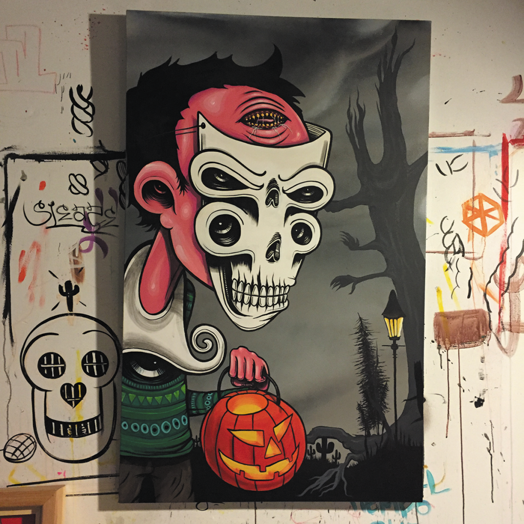 Phoenix-Arizona-graffiti-art-halloween