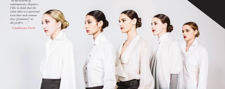 Phoenix-Fashion-Gianfranco-Ferre-White-Shirt
