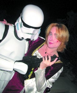 Getting jiggy with a stormtrooper