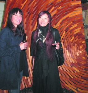 Jennyfer and Yuko at Mitch Fry's studio