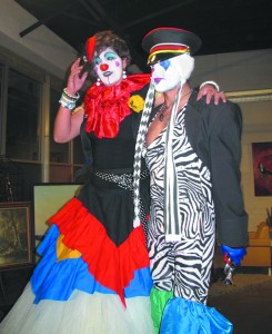 Bring on the stilt-walking clowns