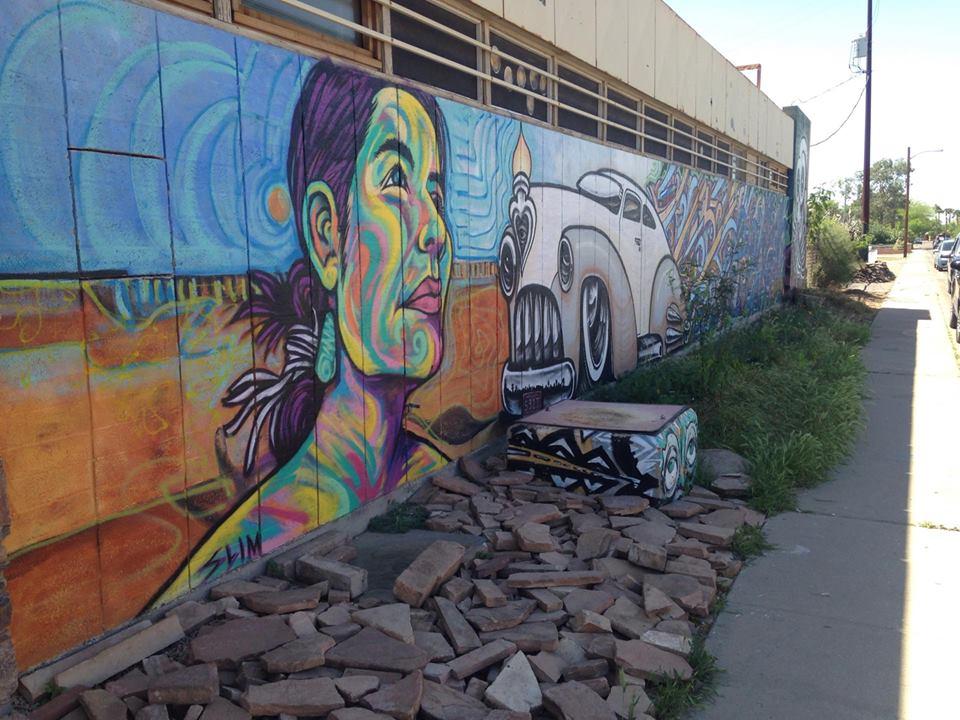 Hive mural