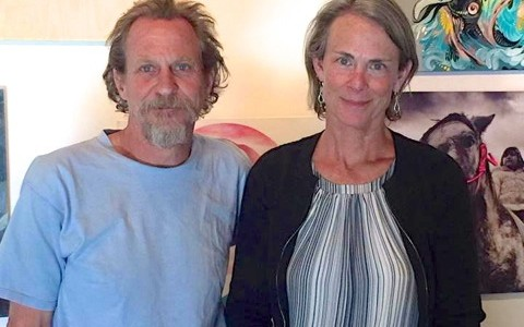 Steve and Julia