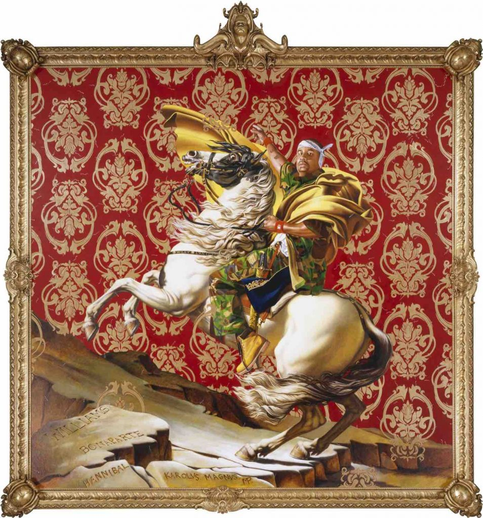 pam_kehindewiley_napoleon-leading-the-army-over-the-alps