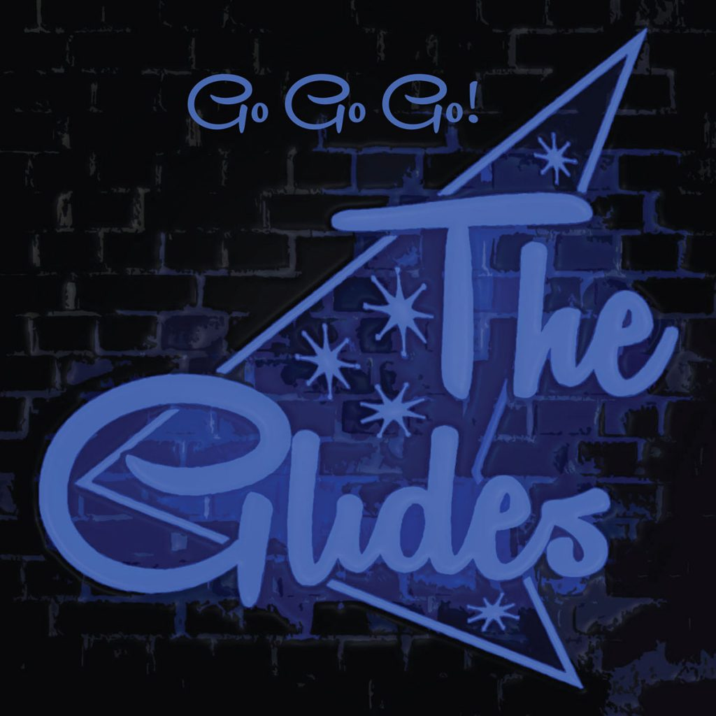 The Glides Go Go Go Logo
